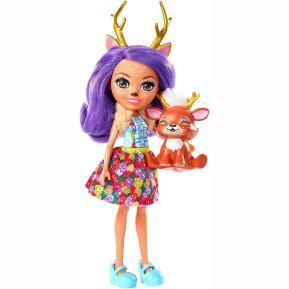 Enchantimals Κούκλα & Ζωάκι Φιλαράκι Danessa Deer & Sprint