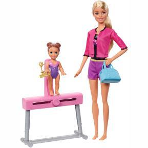 Barbie Σετ Επαγγέλματα - Δασκάλα Αθλημάτων  - Γυμνάστρια