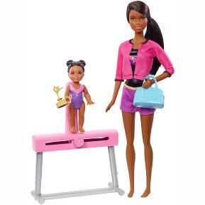 Barbie Προπονήτρια Ενόργανης Γυμναστικής (FXP37)
