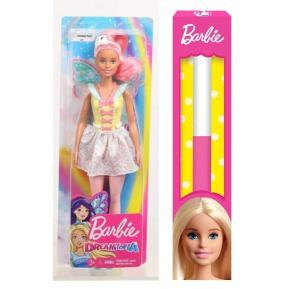 Λαμπάδα Barbie Νεραΐδα Ροζ Μαλλιά (FXT03)