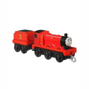 Mattel Thomas And Friends Trackmaster Τόμας Τρενάκια Με Βαγόνι - James