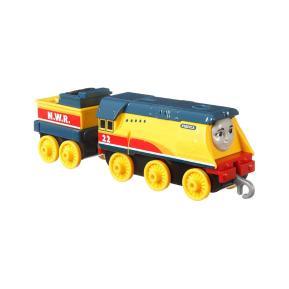 Mattel Thomas The Train - Μεταλλικό Τρενάκι με Βαγόνι Rebecca