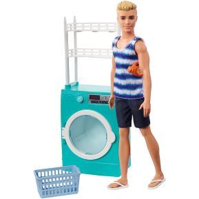 Barbie Ken Πλυντήριο/Στεγνωτήριο Ρούχων