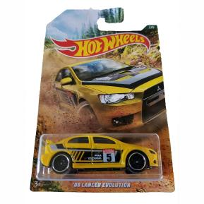 Hot Wheels 2019 Backroad Rally Series '08 Lancer Evolution 2/6 (GDG44)