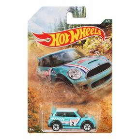 Hot Wheels 2019 Backroad Rally Series Mini Cooper Challenge 4/6 (GDG44)