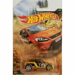 Hot Wheels 2019 Backroad Rally Series '09 Ford Focus RS 5/6 (GDG44)