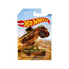 Hot Wheels 2019 Backroad Rally Series Jeep Scrambler 3/6 (GDG44)