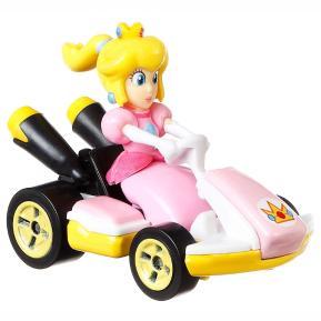 Mattel Hot Wheels Super Mario Kart Αυτοκινητάκι Princess Peach