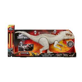 Λαμπάδα Mattel Jurassic World Indominus Rex Δεινόσαυρος με Ήχους & Κίνηση (GCT95)