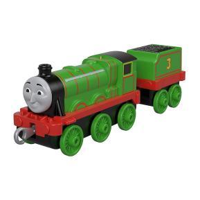 Thomas The Train - Μεταλλικό Τρενάκι με Βαγόνι Henry (GCK94)