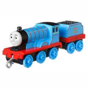 Thomas The Train - Μεταλλικό Τρενάκι με Βαγόνι Edward (GCK94)