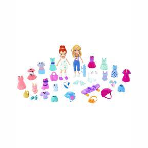 Mattel Polly Pocket και Φίλη Με Ρούχα και Αθλητικά Αξεσουάρ Super Sporty Pack