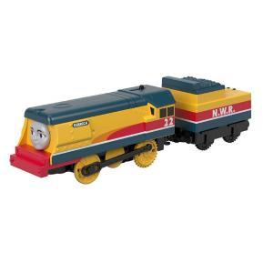Fisher Price Thomas The Train - Μηχανοκίνητα Τρένα με Βαγόνι Rebecca (BMK87)