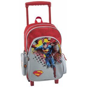 Τσάντα Trolley Δημοτικού Graffiti  Superman 16620