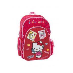 Τσάντα Δημοτικού Graffiti Κόκκινο Hello Kitty Kids