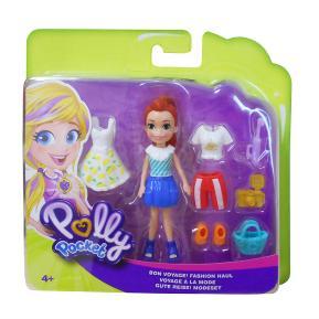 Polly Pocket - Lila Bon Voyage! Fashion Haul (GDM01)
