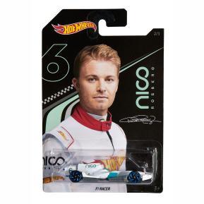 Mattel Hot Wheels Αυτοκινητάκια Nico Rosberg F1 Racer 2/3 (GGC34)