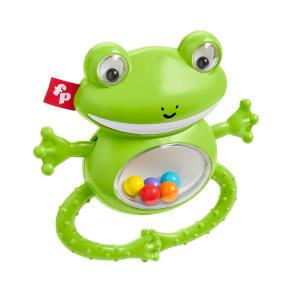 Fisher-Price Shake N Rattle Frog Ζωάκια Σαφάρι - Βατραχάκι (GGF02)