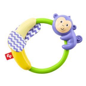 Fisher-Price Slide & Crinkle Monkey Ζωάκια Σαφάρι - Μαϊμουδάκι (GGF02)