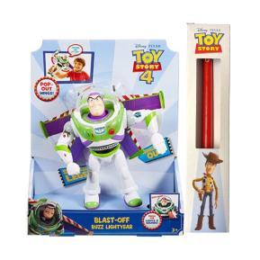 Λαμπάδα Mattel Toy Story 4 Φιγούρα Buzz με Φώτα και Ήχους 18εκ