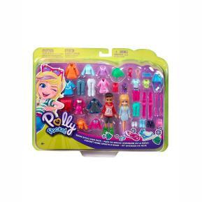 Mattel Polly Pocket και Φίλη Με Ρούχα και Αθλητικά Αξεσουάρ Show Style Fashion Pack