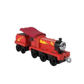 Mattel Thomas The Train - Μεταλλικό Τρενάκι με Βαγόνι Rail Rocket James