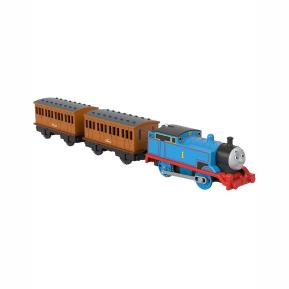 Fisher Price Thomas The Train - Μηχανοκίνητα Τρένα Με 2 Βαγόνια Thomas, Annie, Clarabel BMK93