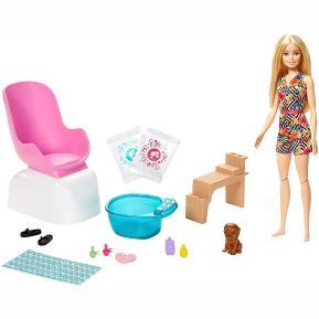Mattel Barbie Wellness - Ινστιτούτο Μανικιούρ (GHN07)