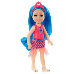 Mattel Barbie Chelsea Νεραϊδοπριγκίπισσα μπλε μαλλιά