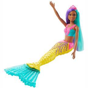 Mattel Barbie Dreamtopia Έκπληξη Γοργόνα Κούκλα Με Κίτρινη Ουρά