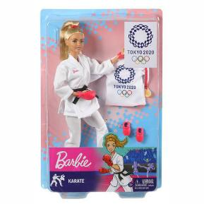 Barbie Ολυμπιακοί Αγώνες -  Αθλήτρια Καράτε (GJL74)