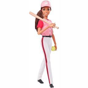 Mattel Barbie Ολυμπιακοί Αγώνες - Αθλήτρια Softball/Baseball (GJL77)