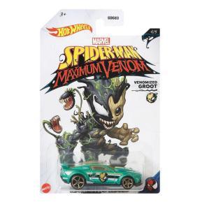 Mattel Hot Wheels Marvel Spider-Man Venomized Groot Custom 15 Ford Mustang