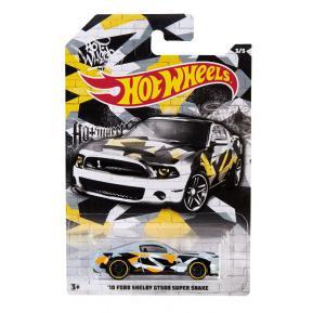 Mattel Hot Wheels Αυτοκινητάκι '10 Ford Shelby GT 500 Super Snake 3/5 (GDG44)