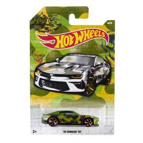 Mattel Hot Wheels Αυτοκινητάκι '18 Camaro SS 4/5 (GDG44)