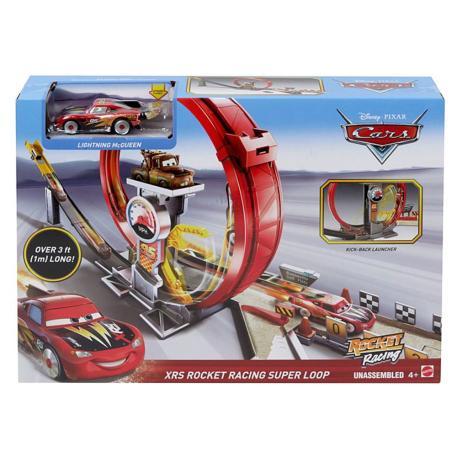 Mattel Cars Πιστά Xrs Rocket (GJW44)-4