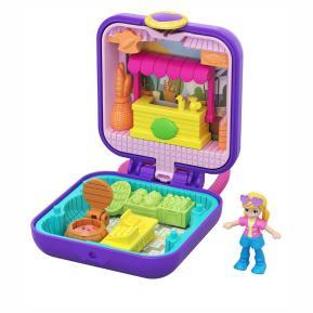 Polly Pocket Mini - Σετάκι Μπρελόκ -  Tiny Compact