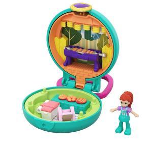 Mattel Polly Pocket Mini - Σετάκι Μπρελόκ -  Tiny Compact (GKJ39)