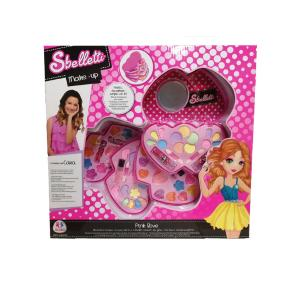 Sbelletti Make Up Set σε σχήμα καρδιάς 4 επιπέδων