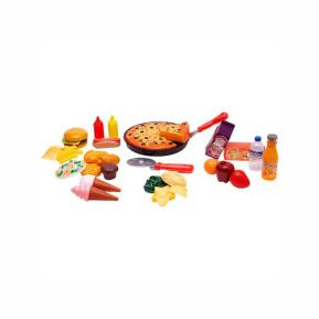 Globo Set Pizza with Kitchen Accessories 60pcs (36258)