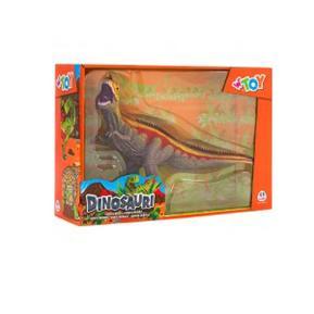 Δεινόσαυρος πράσινος - κίτρινος - κόκκινος