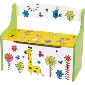 Wooden Toys Chest 58x49x30cm