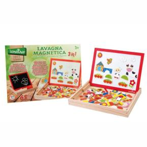 Wooden Magnetic Board W/Magnets