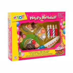 Σετ τούρτας γενεθλίων με κεράκια (379119)