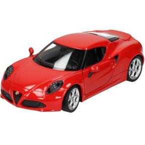 Globo Car D-Cast Welly License 1:24 Alfa 4C (38501)