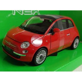 Welly Nex 1:24 Die Cast Car 2007 Fiat 500 (385035)