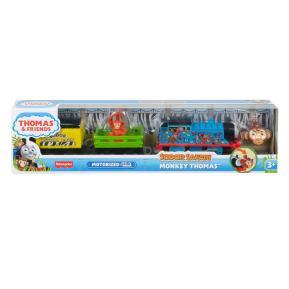 Fisher Price Thomas The Train Μηχαν/το Τρενάκι Safari Monkey Thomas