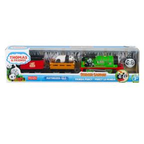 Fisher Price Thomas The Train Μηχαν/το Τρενάκι Safari Panda Percy