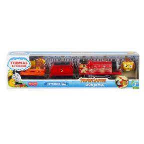 Fisher Price Thomas The Train Μηχαν/το Τρενάκι Safari Lion James