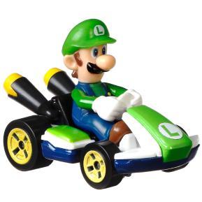 Mattel Hot Wheels Super Mario Kart Αυτοκινητάκι Luigi